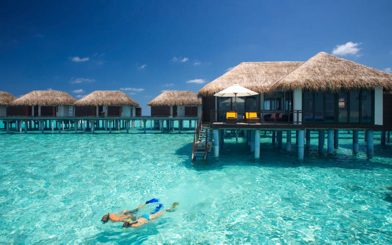 Romantic Honeymoon in Maldives
