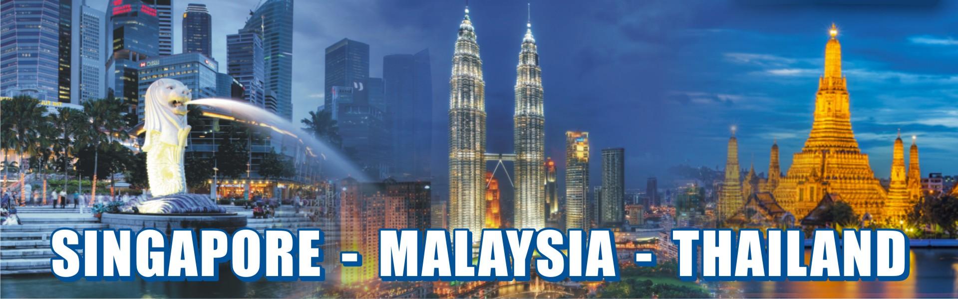 Singapore Malaysia & Thailand Combo